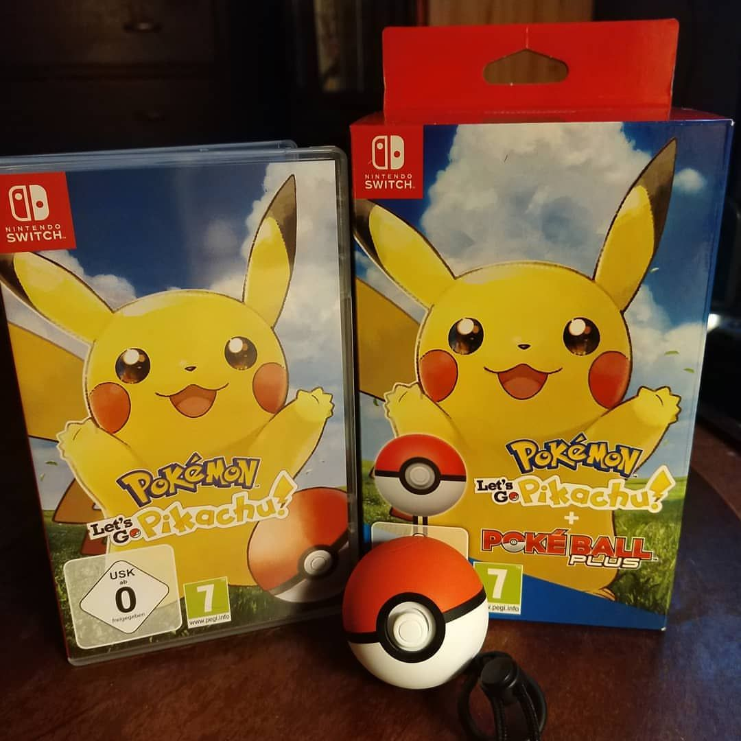 Pokemon Let S Go Pikachu Today I Reached The Age To Get My Own