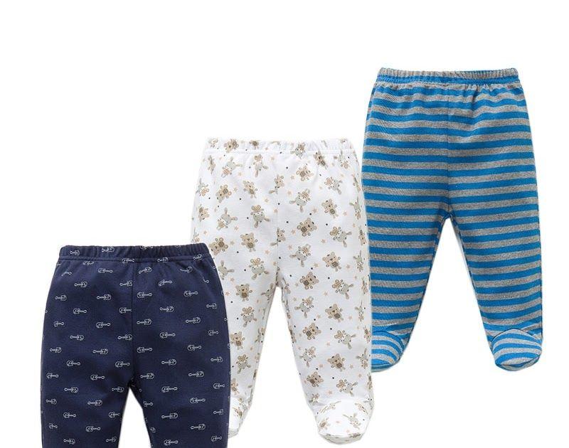 bb70ff1614ff Cheapest 3PCS lot Baby Pants 100% Cotton Autumn Spring Newborn Baby ...
