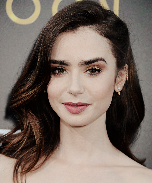 Lily Collins attends 'The Last Tycoon' premiere in LA on July, 27.