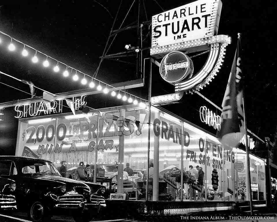 1954 Charlie Stuart Inc. Studebaker Dealership