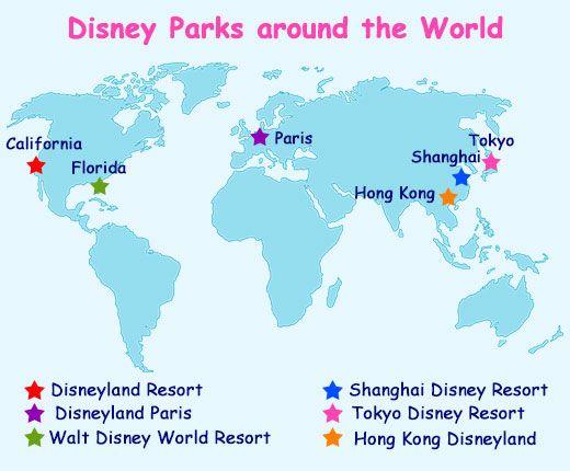 List Of Disney Parks Around The World Bucket List