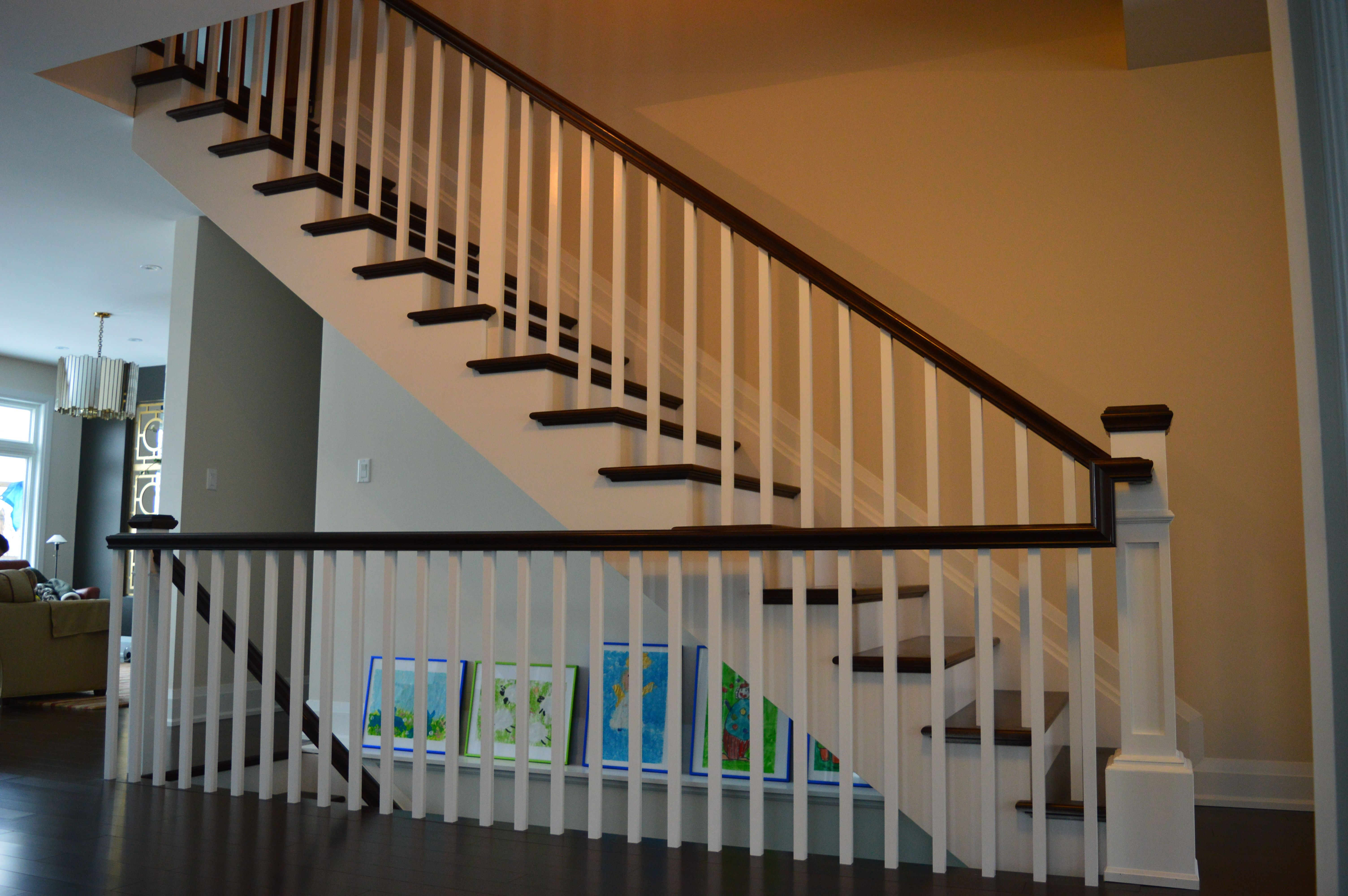 Best Stunning New Stair Constructed With Steamed Beach Treads 400 x 300