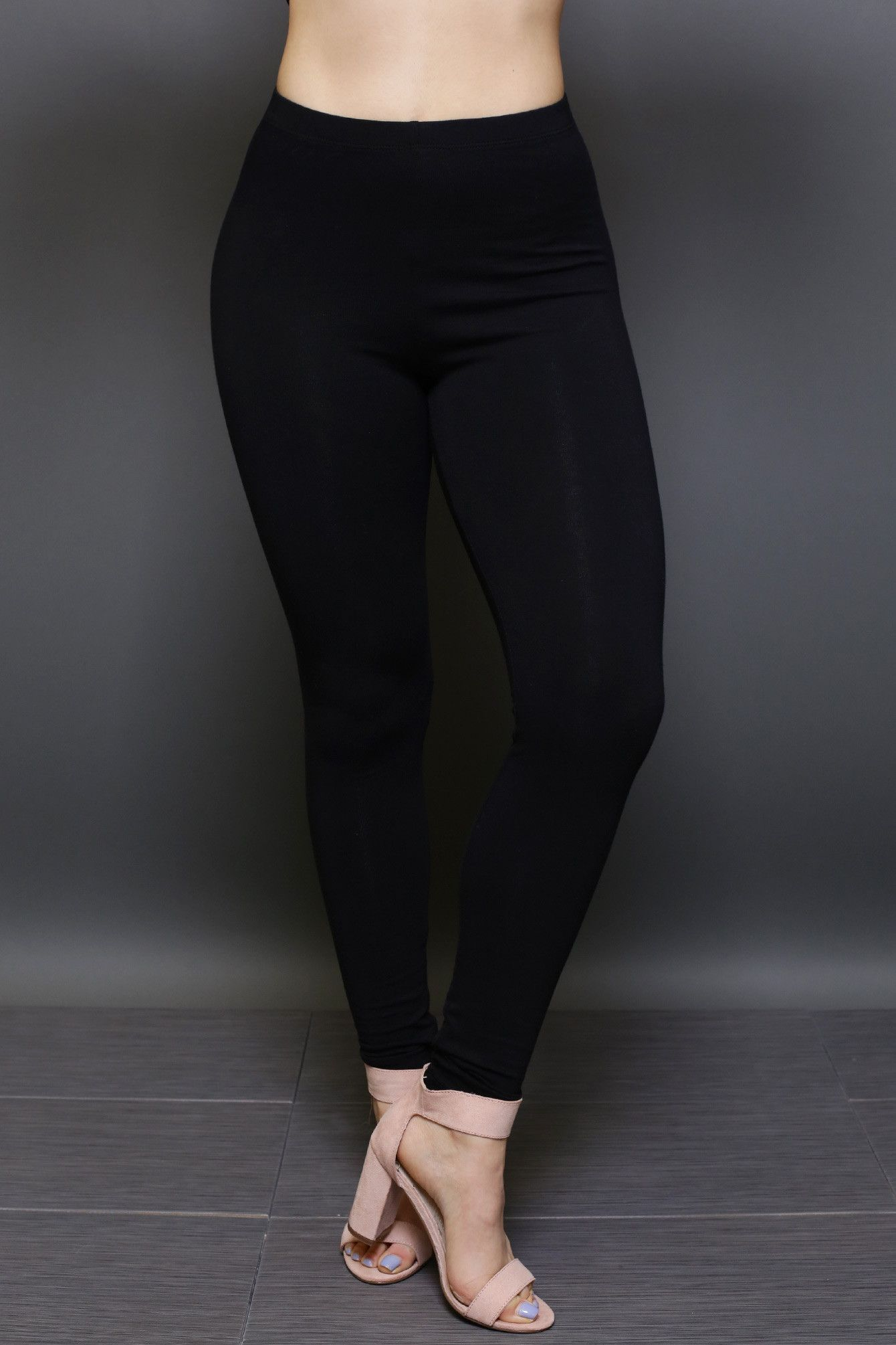 f81984594c7a2 Plain Black Leggings - Sale! Up to 75% OFF! Shot at Stylizio for women's  and men's designer handbags, luxury sunglasses, watches, jewelry, purses,  wallets, ...