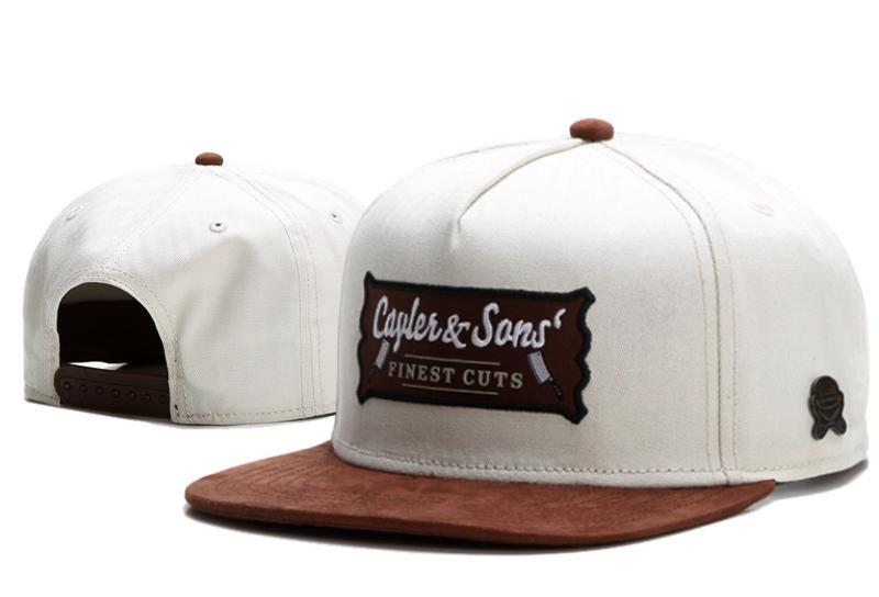 Men s Cayler   Sons C   S CL Finest Cuts Snapback Hat - Whtie   Brown 0f605490210