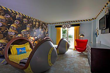 Portifino Bay Resort (Orlando) Awesome Minion themed room!
