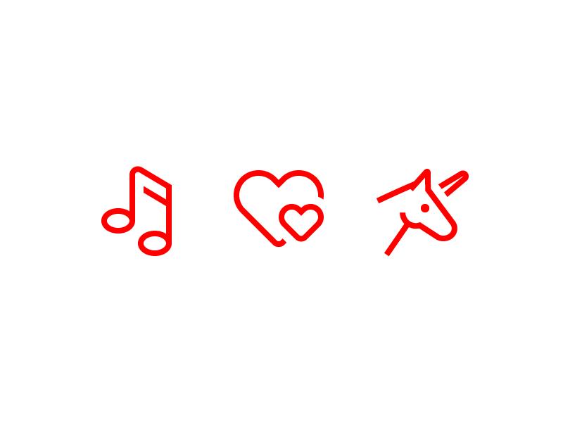 Music Love and Unicorn