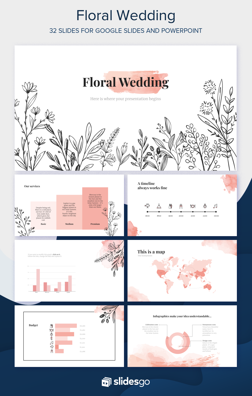 100% free template available for Google Slides and ...