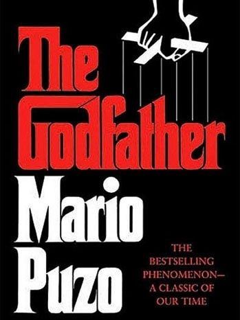Mario Puzo The Godfather 1969 Classic Covers Pinterest