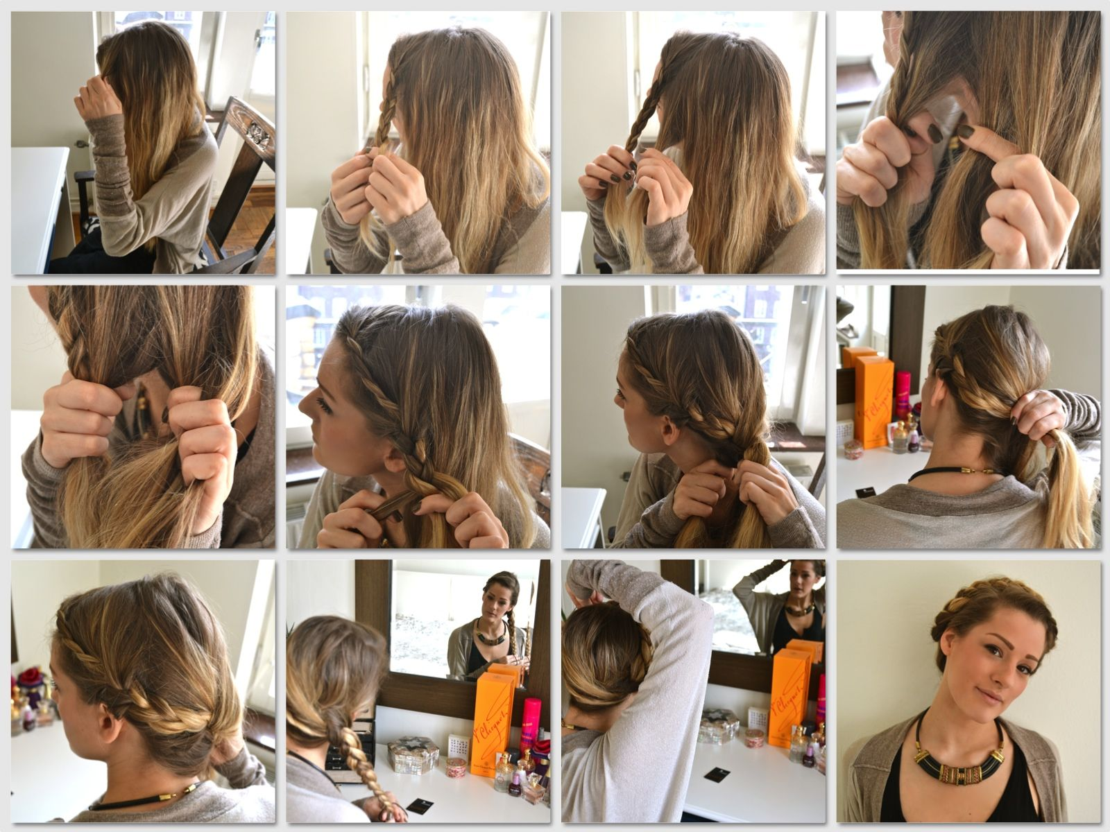 Easy to do braids how to pictuers   am tend to stick to the