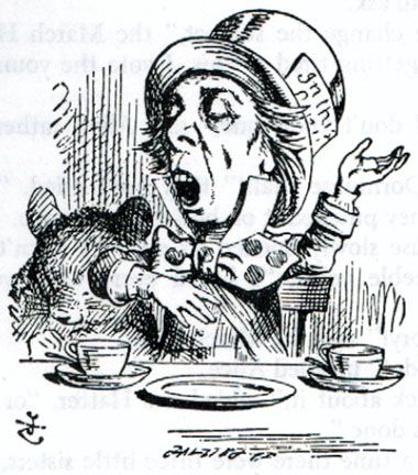 The Mad Hatter\' Illustration to the seventh chapter of Alice in ...