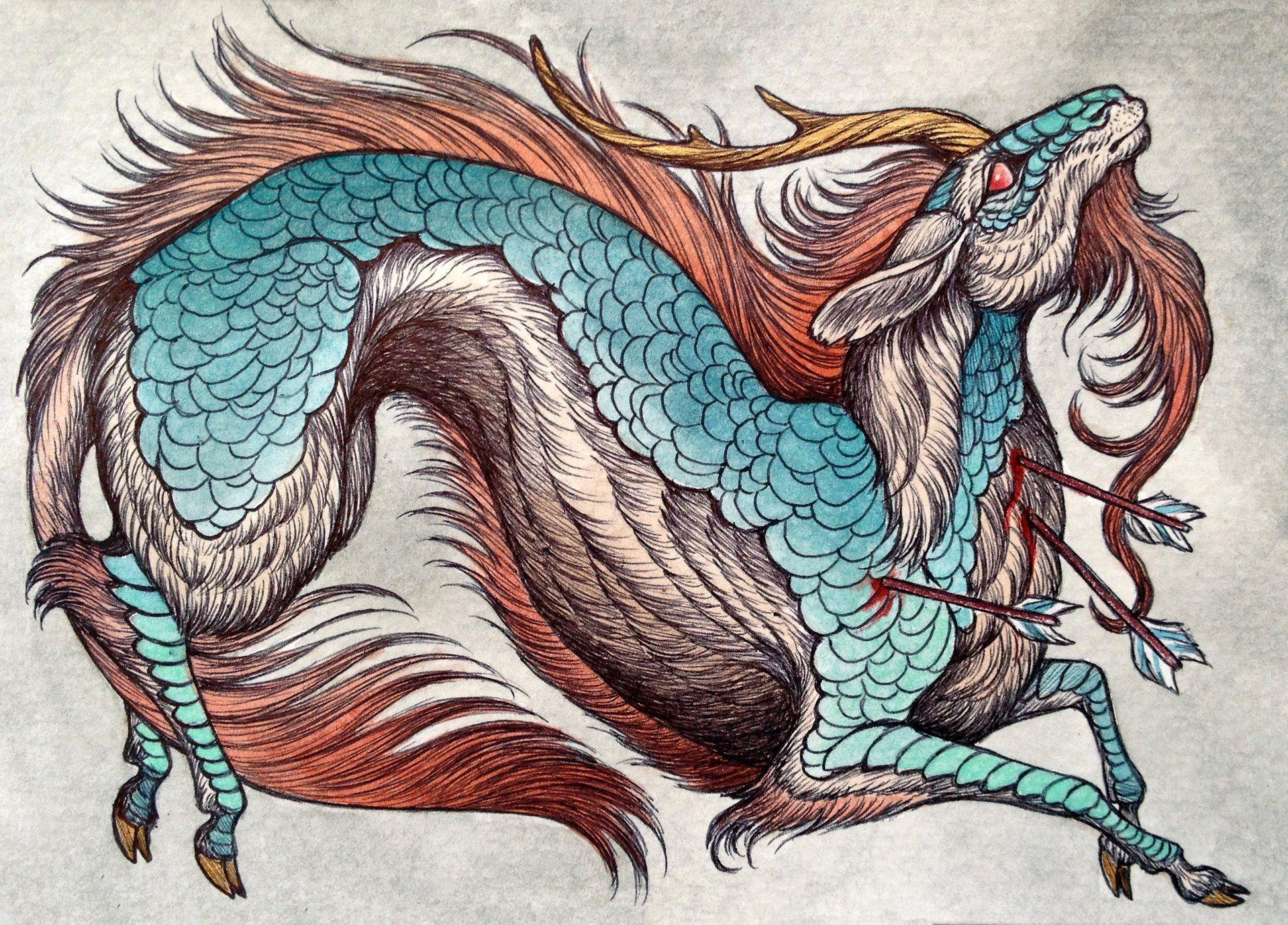как существа из мифов и легенд картинки происходил весьма