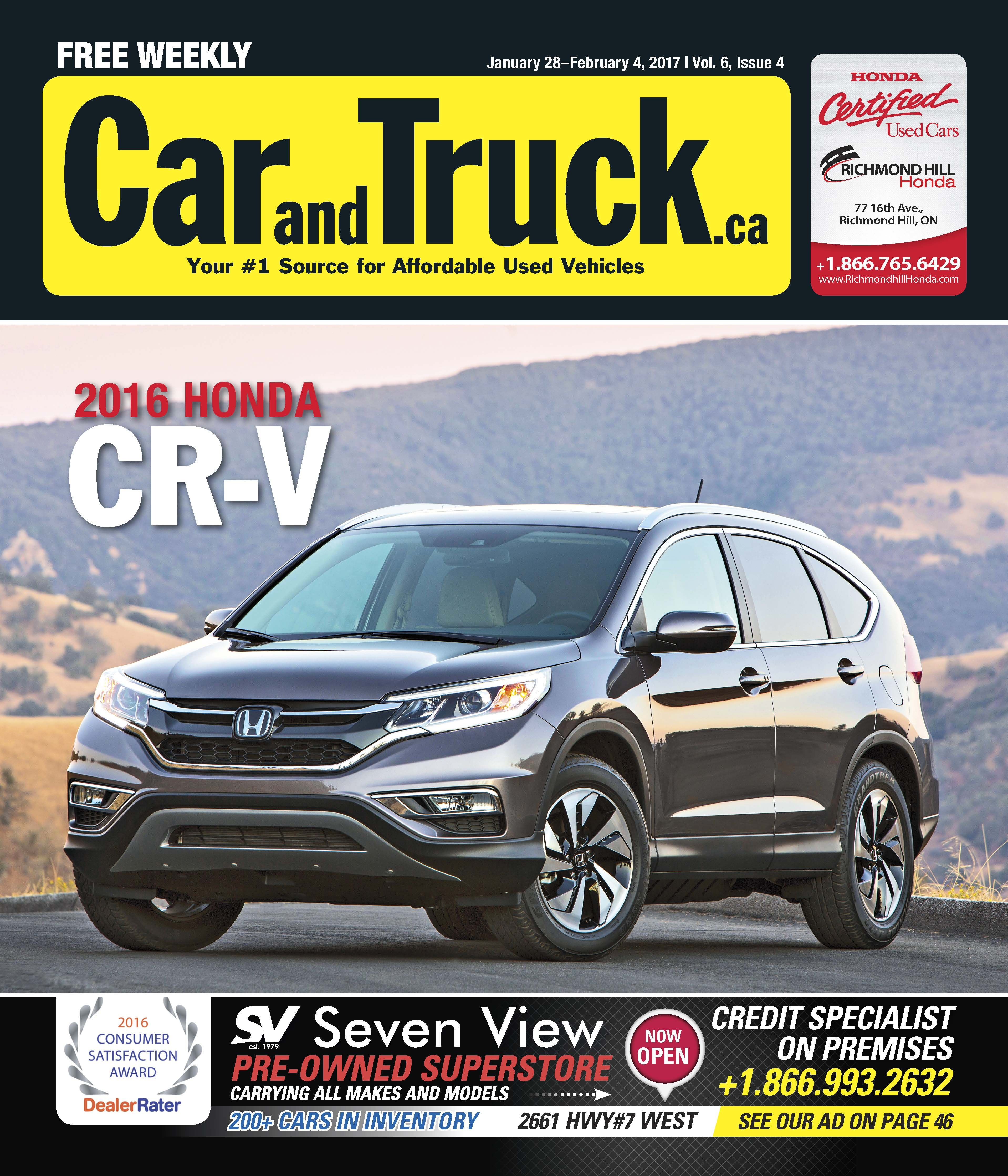 Check out the wheels and deals in this weeks free issue of