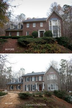 brick exterior makeover Georgia - Google Search