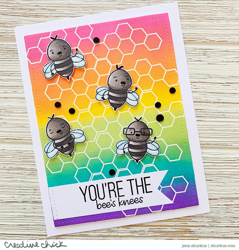 Bee Yourself, Simon Says Stamp Card Kit | {creative chick} | shurkus.com