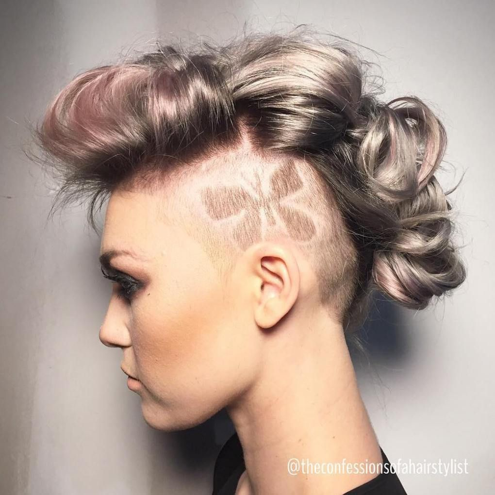 cute shaved hairstyles for women hair u beauty pinterest