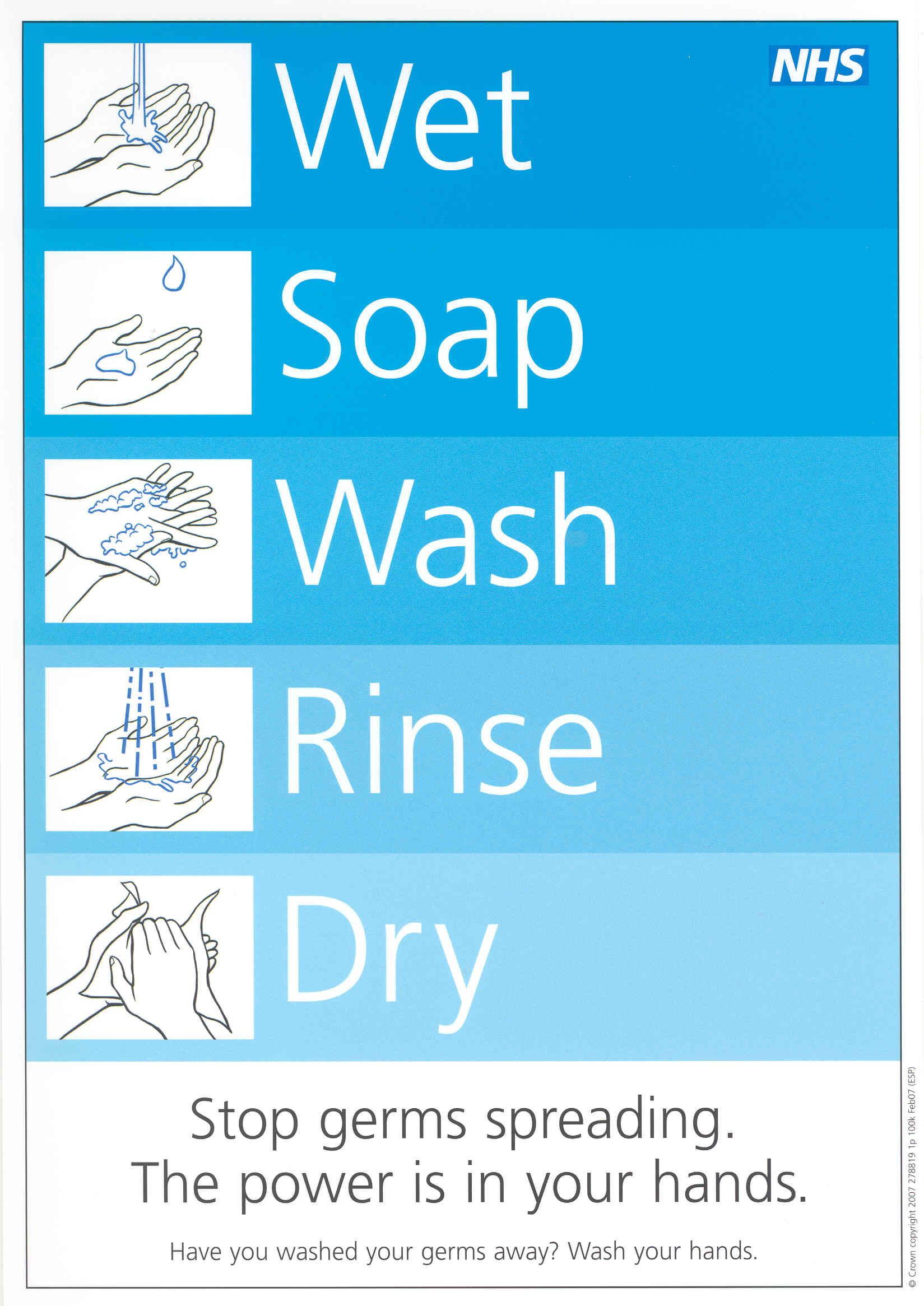 photograph regarding Free Printable Hand Washing Posters called Clean palms poster 1st Quality Hand washing poster, Germ