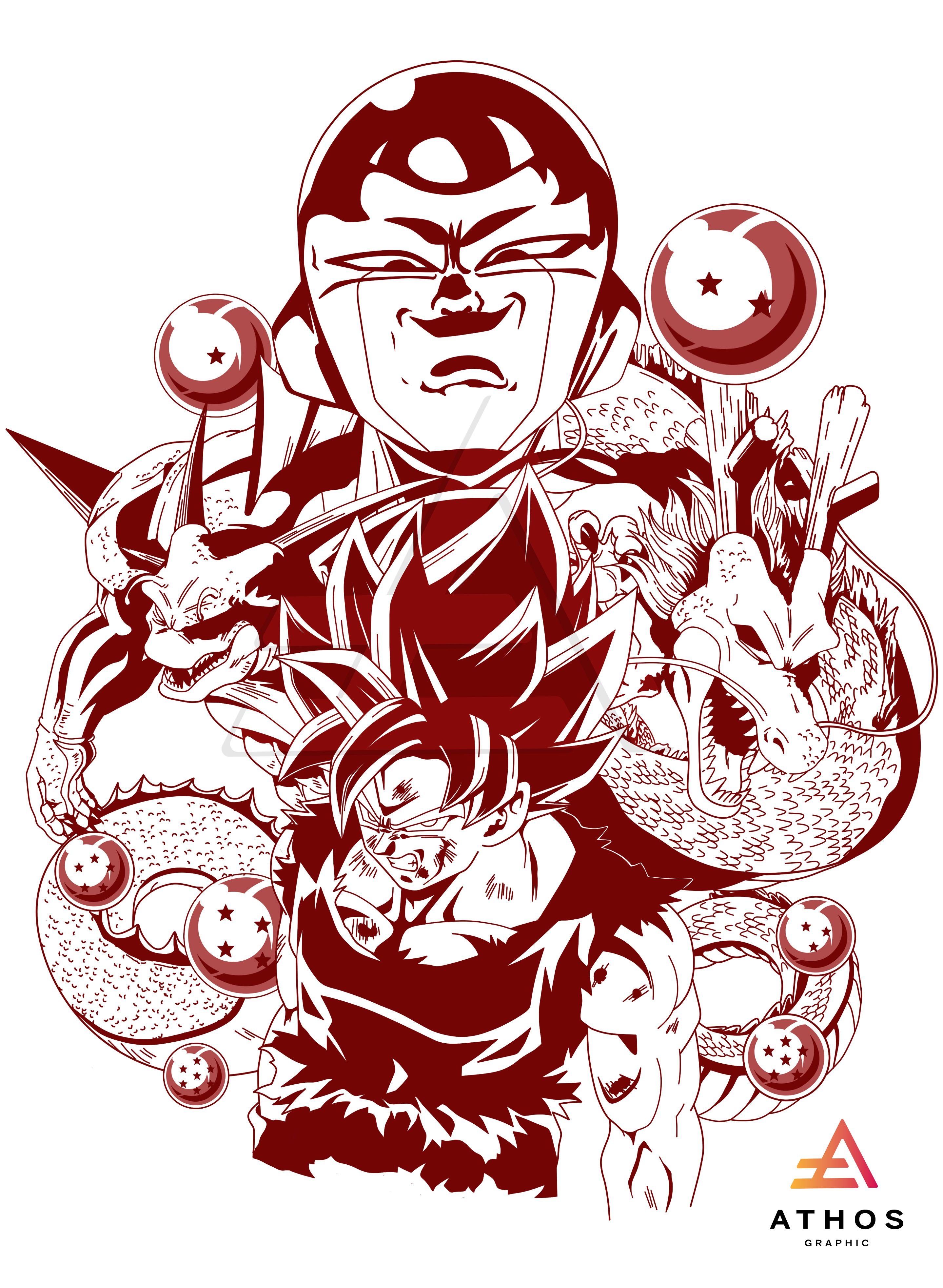 Dragon Ball Z Namek Dibujo De Goku Dragon Ball Gt Personajes De Dragon Ball