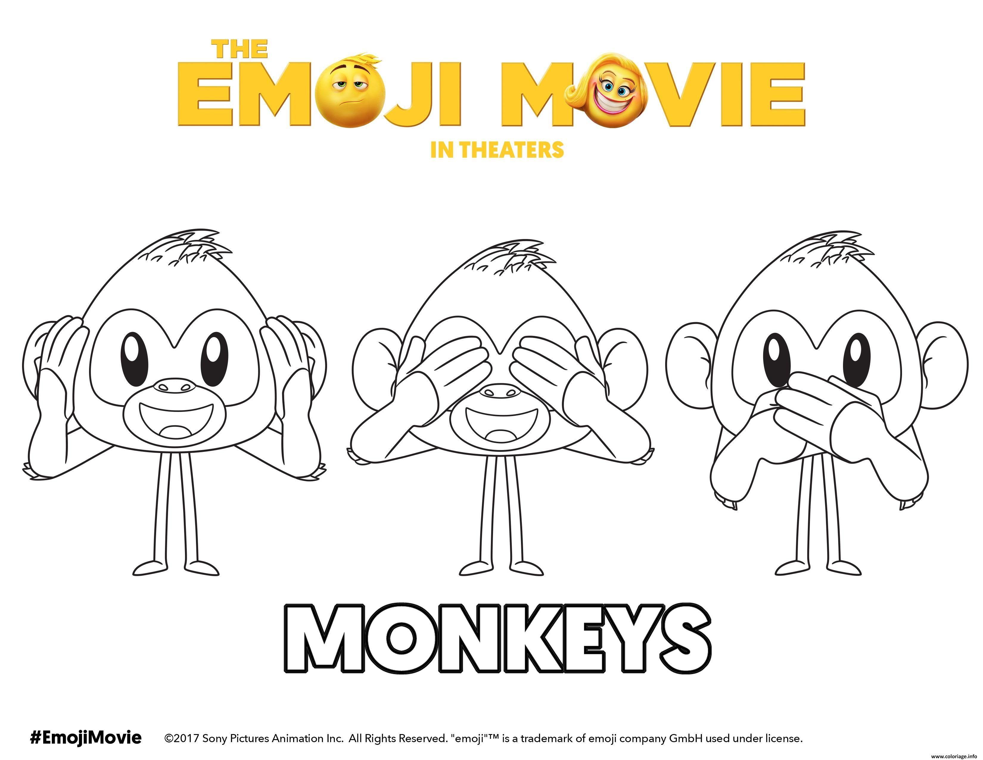 15 Le Meilleur Coloriage A Imprimer Emoji Photos Emoji Coloring Pages Monkey Coloring Pages Cute Coloring Pages