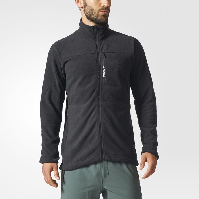 3ca2c33fcd adidas TERREX Tivid Fleece Jacket - Mens Outdoor Jackets | Products ...