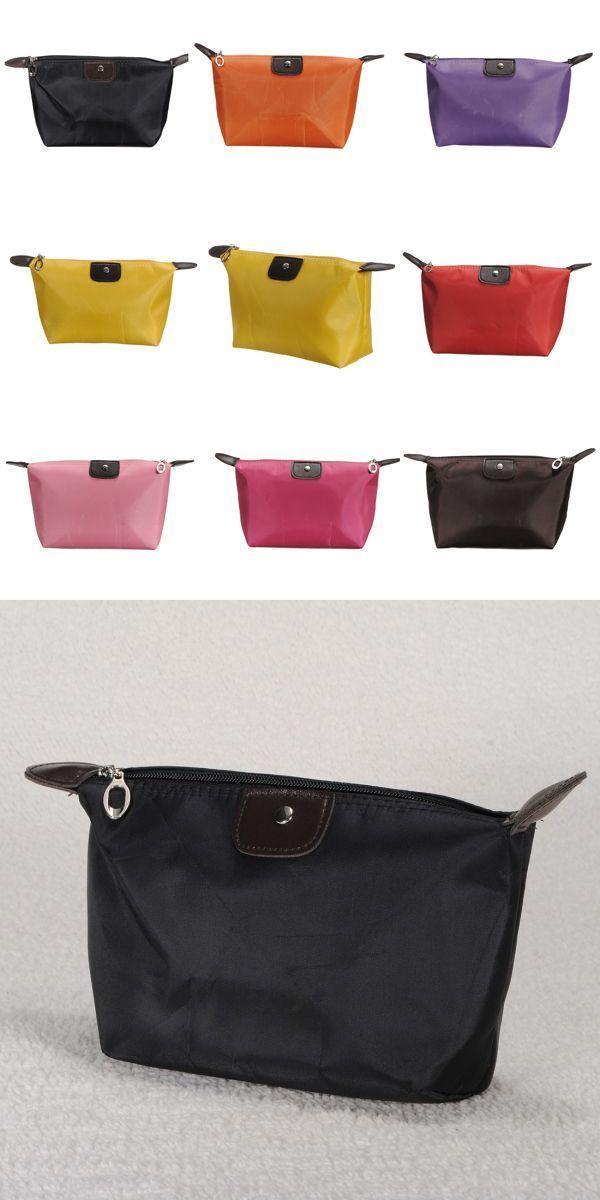 Waterproof Nylon Cosmetic Makeup Bag Handbag Purse Pouch Zipper Bags Nordstrom Rack