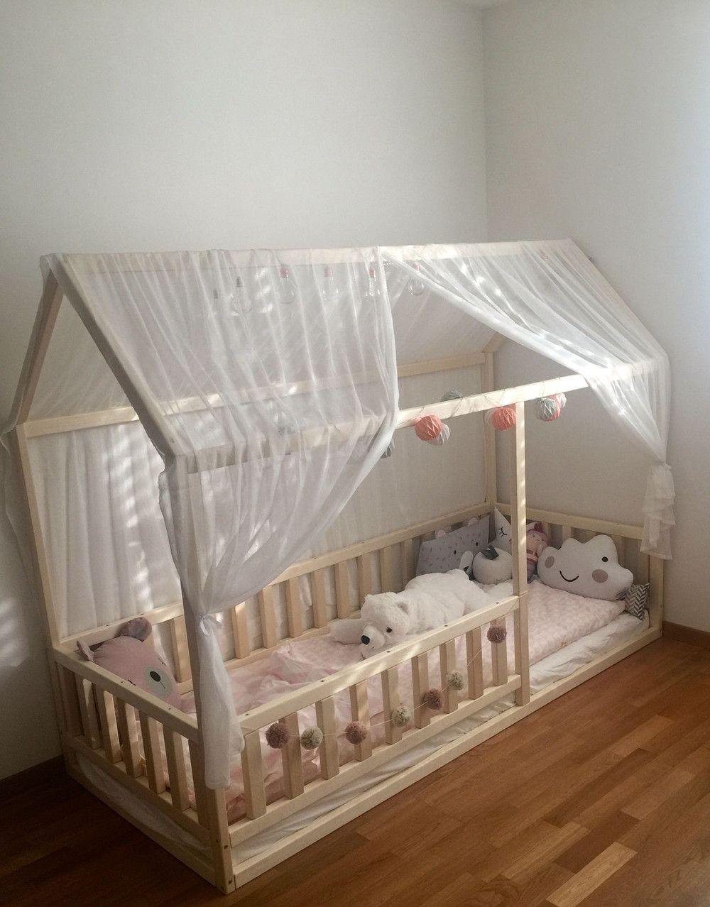 Fabelhaft Bett Größe Das Beste Von Kinderbetten - Kinderbett, Montessori-bett Größe 140x70 Cm