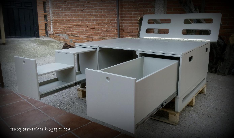 Artesan a madera muebles de madera r sticos for Muebles camper