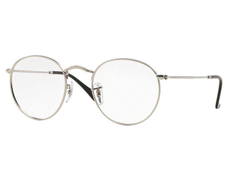 b4c230b1e Óculos De Grau Ray Ban Redondo Round Metal RB3447V 2538 Tam.50 ...
