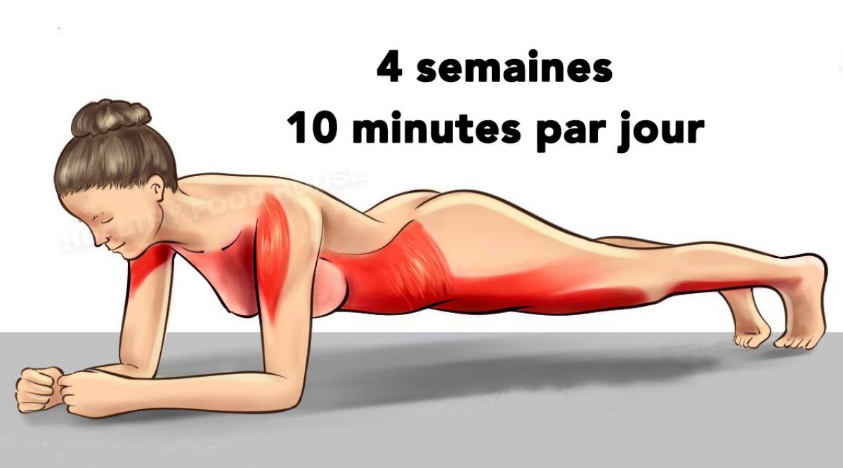Transformez votre corps en 4 semaines avec ces 5 exercices simples
