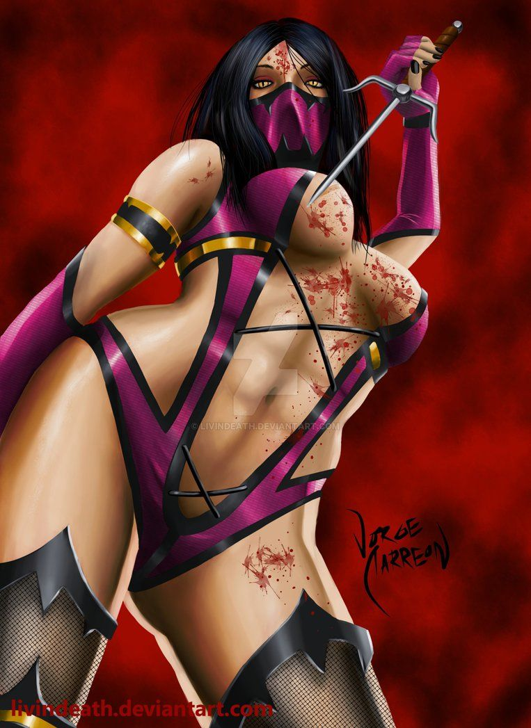 Mileena Mortal Kombat By Livindeath Mortal Kombat Art Mortal