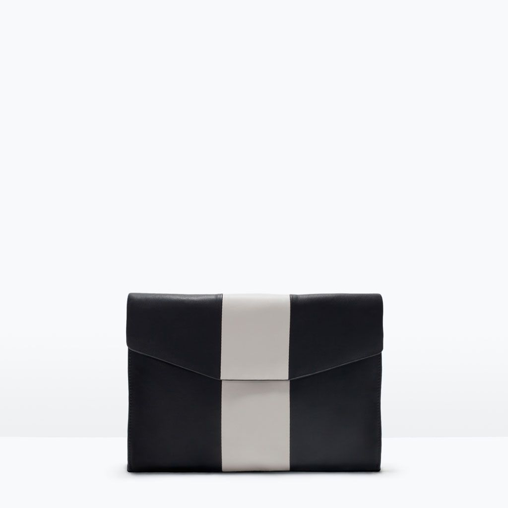 Image 1 of COMBINED CLUTCH BAG from Zara