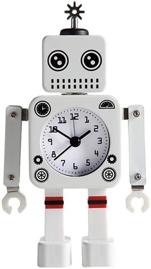 Decorative Bedroom Alarm Clocks: Robot Alarm Clock This Is An Alarm Clock Every Kid Will