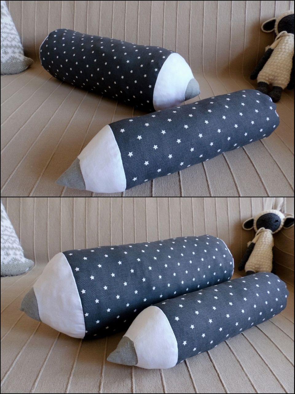 buntstiftkissen selber n hen diy nackenrolle diy. Black Bedroom Furniture Sets. Home Design Ideas
