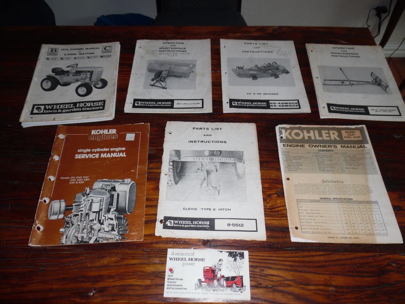Details about John Deere 110 112 Lawn Garden Tractor & 39