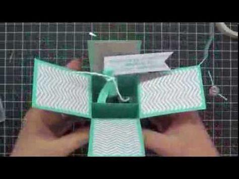 Pop Up Box Card Make It Simple A Video Tutorial Lovenstamps Pop Up Box Cards Box Cards Tutorial Card Box