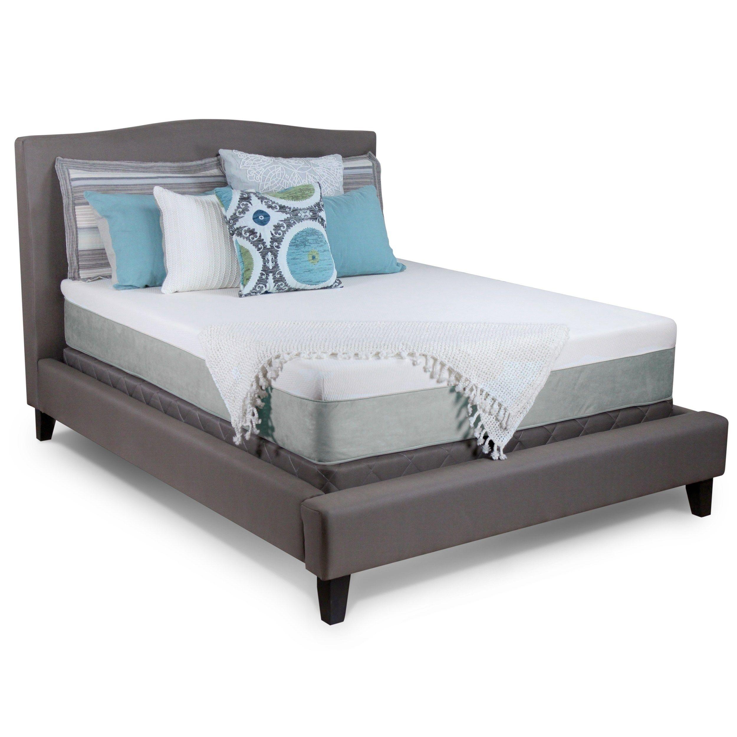 Select Luxury Ultra Plush 11 Inch Twin Size Cool Gel Memory Foam Mattress Blue Mattress Sets Bedroom Furniture Stores Mattress