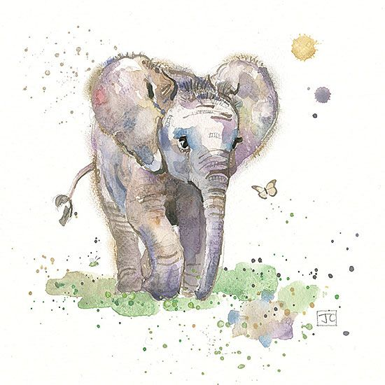 Baby Elephant by Jane Crowther, Bug Art
