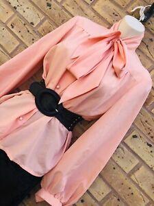 Vintage 1980s Tie Neck Blouse 服装 In 2019 Blouses Uk Tie