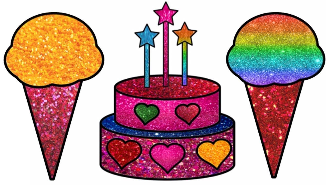 Happy Birthday Cake Drawing Learn Colors How To Draw Cake Birthday Cake Coloring Pages For Kids Coloring Pages For Kids Art Drawings For Kids Cake Drawing