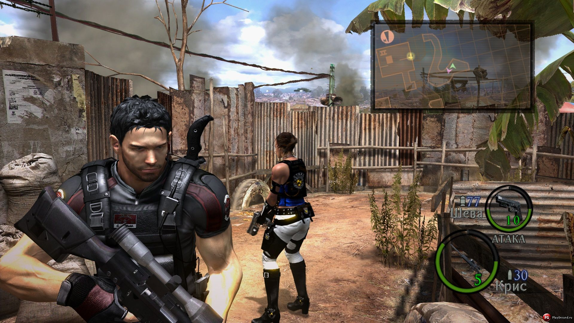 New Chris REDField / Screen 002 / Mods for Resident Evil 5