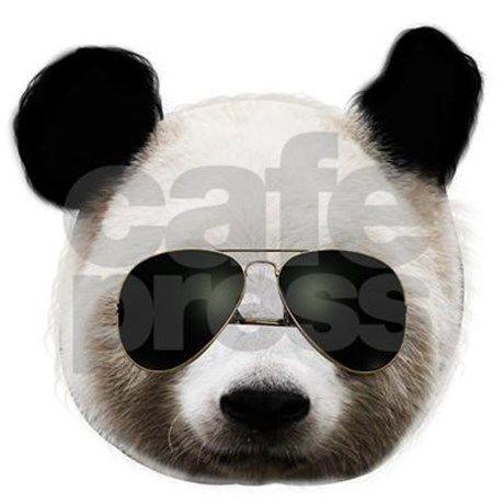 e3d91eea8 cool panda sunglasses T-Shirt | animals teez | Shirts, Cool panda, T ...