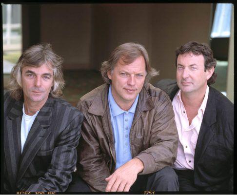 Richard Wright David Gilmour Nick Mason