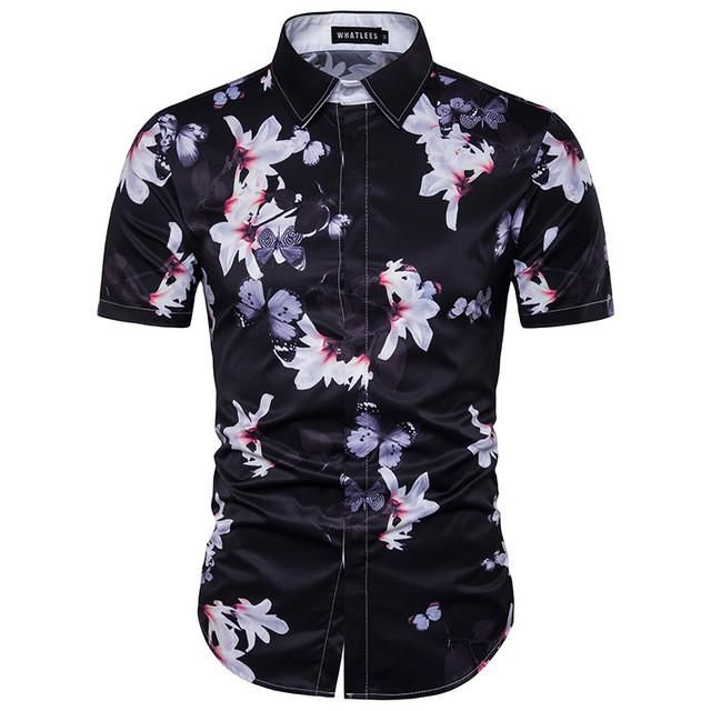 cd1238bd6a5 ... Men s Clothing with latest designs from tidebuy. Hawaiian Shirt Casual   25.99 ( was  37.99 )