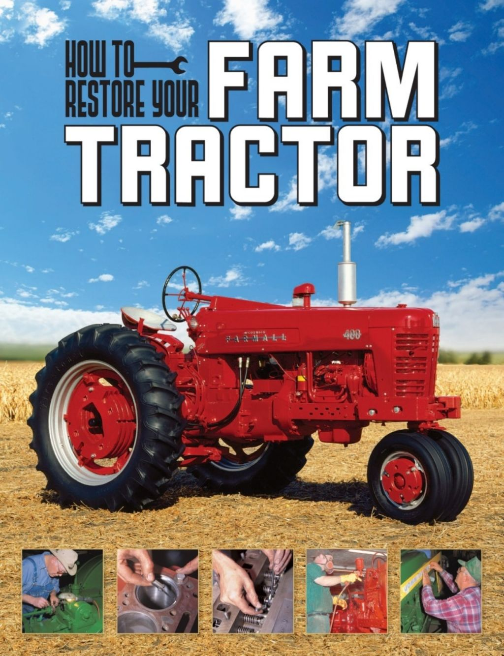 How to restore your farm tractor ebook with images
