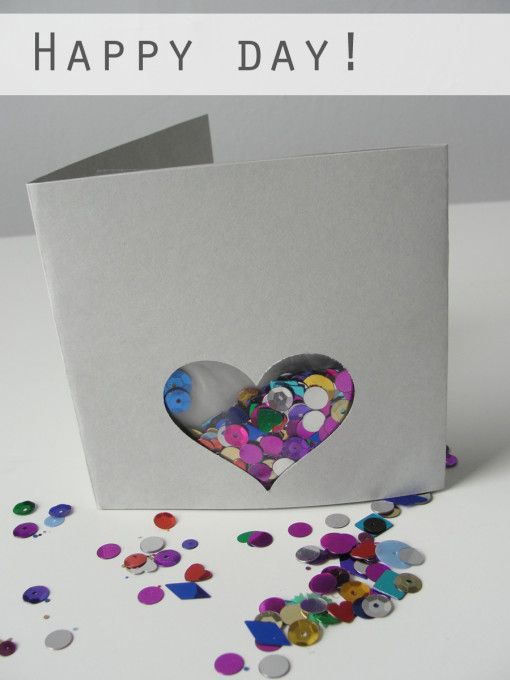 Custom Sequin Card Sequin Cards Greeting Card Craft Greeting Cards Diy