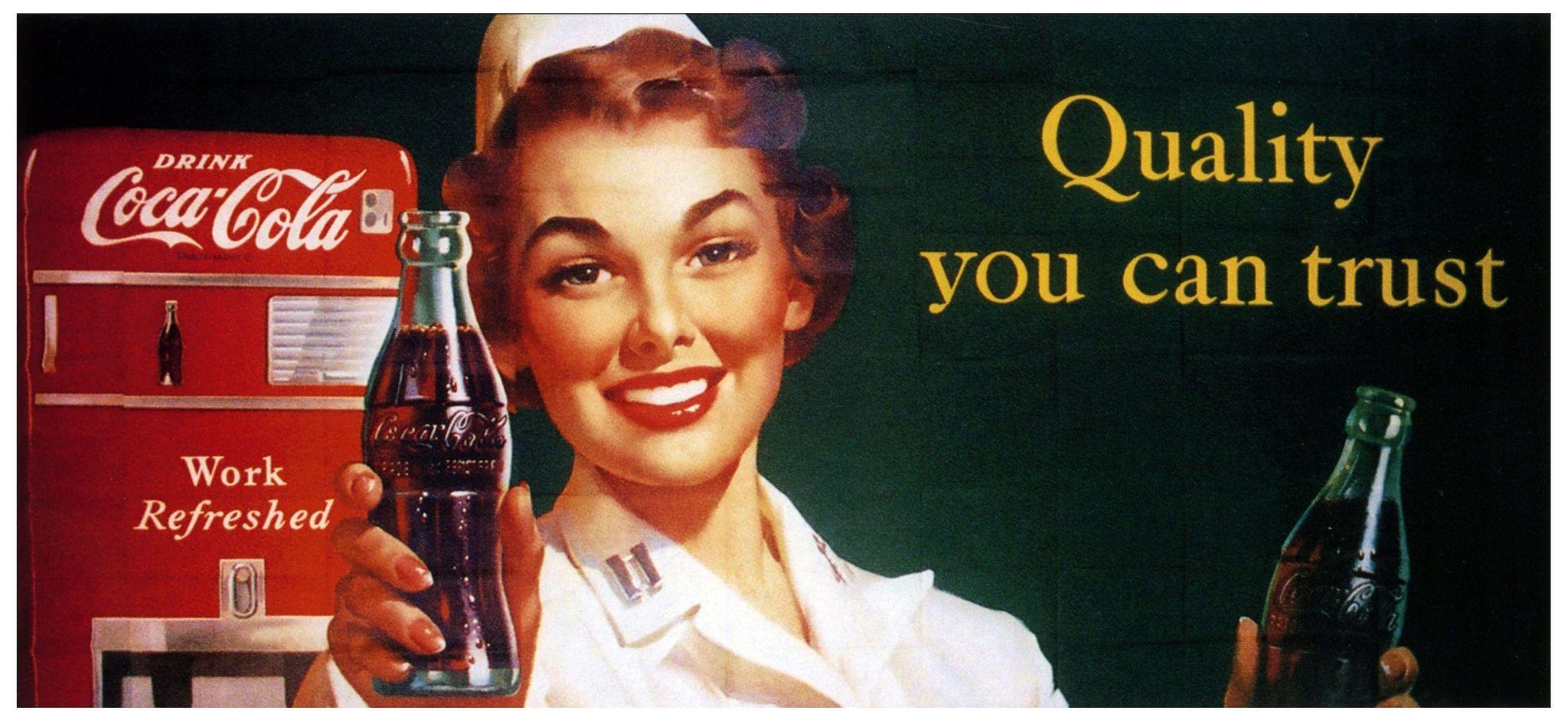 Quality You Can Trust in 2019 | Soda Pop Art | Coke ad