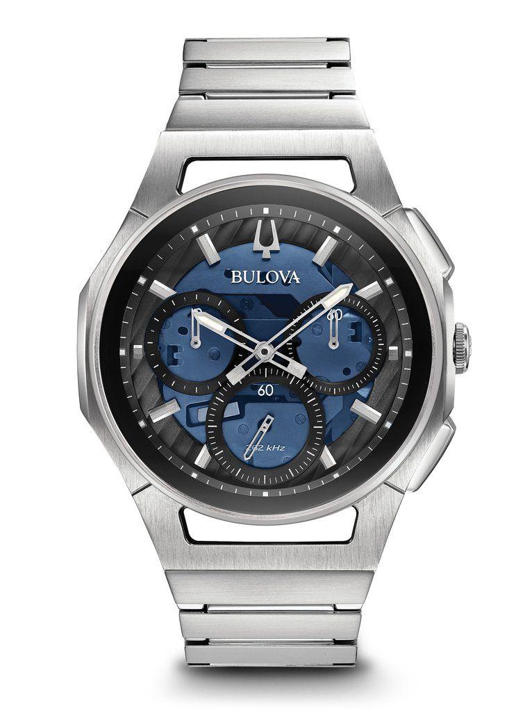 2d69dd349032 Bulova 96A205 Men s Curv Chronograph Watch