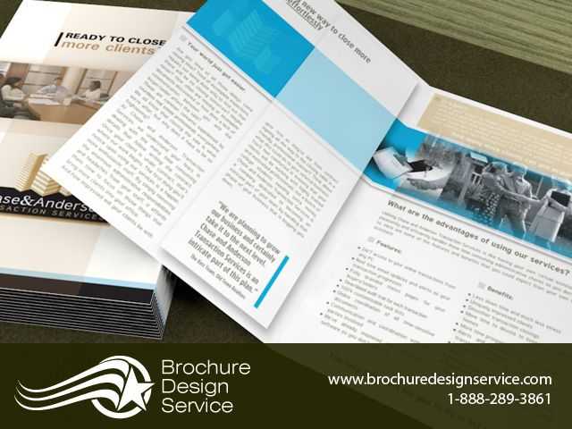 Small Bi Fold Brochure Design Sample.