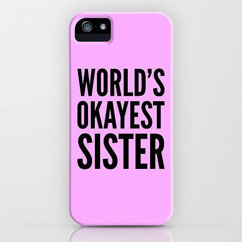 hey sister go sister - Handyhülle