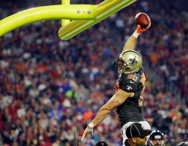 Jimmy Graham Pro Bowl Dunk New Orleans Saints Jimmy Graham Lsu Fans