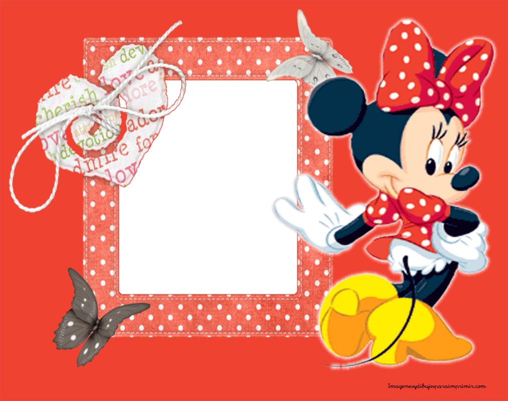 Marcos para fotos con minnie mouse-Imagenes y dibujos para imprimir ...
